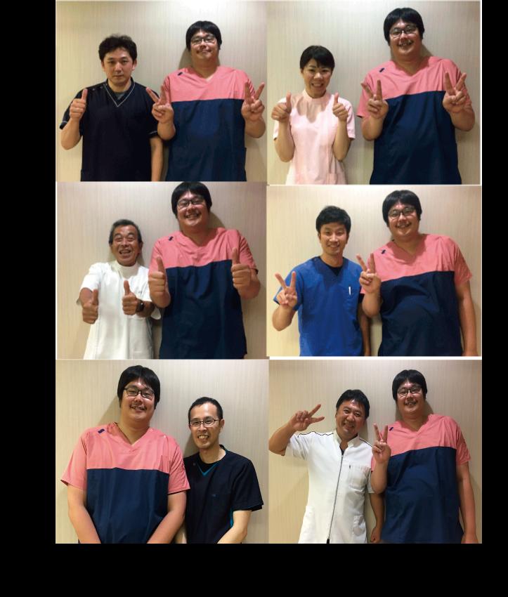中田先生の技術を学ぶ同業者